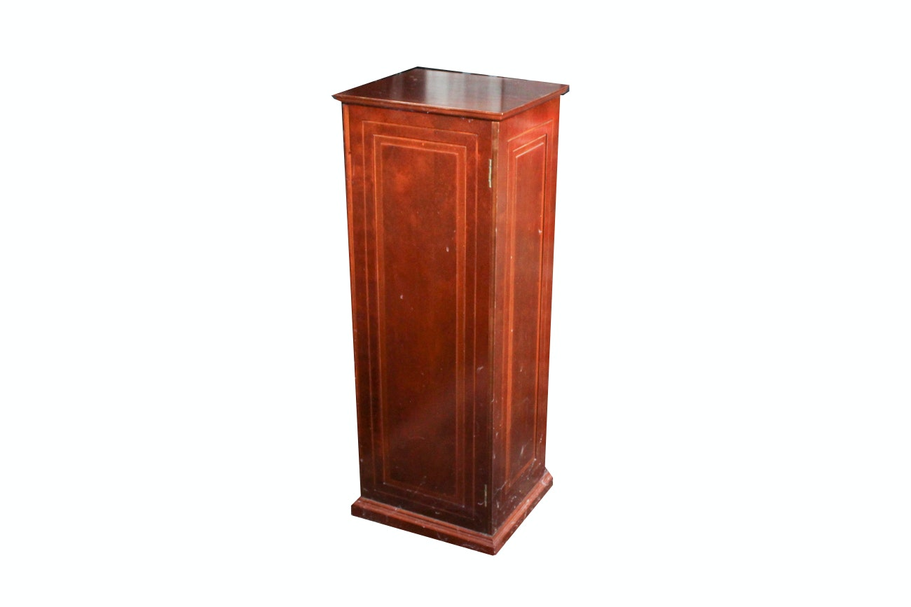 Hinged Pedestal Cubby Cabinet ...