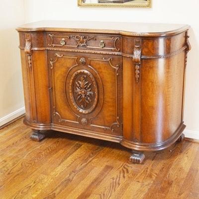 Batesville Cabinet Co. Baroque Italian Style Sideboard, Circa 1930