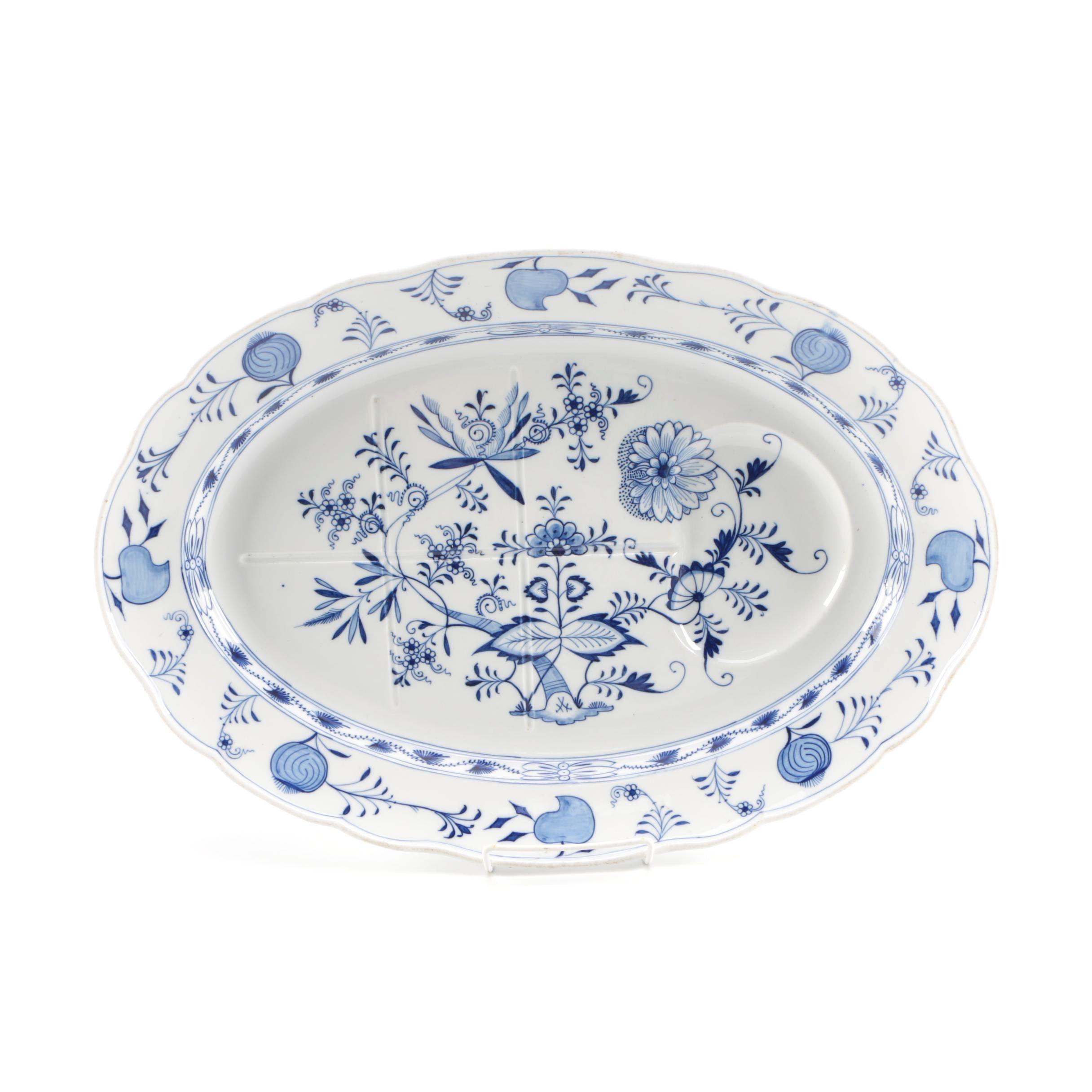 "Meissen ""Blue Onion"" Serving Platter"