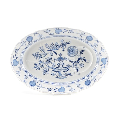 "Meissen ""Blue Onion"" Serving Platter"
