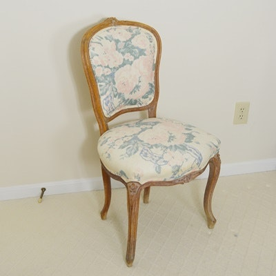 Cartouche Back Wood Side Chair