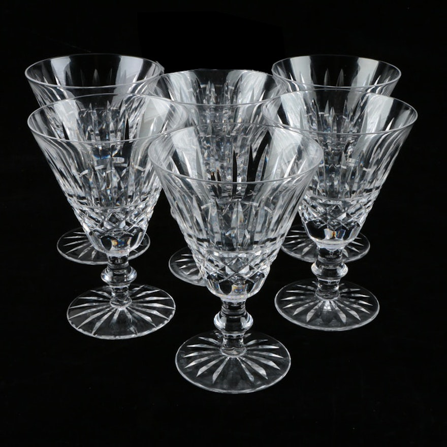 Waterford crystal tramore claret wine stemware ebth - Wedgwood crystal wine glasses ...