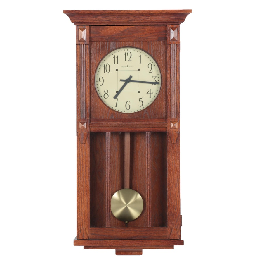 Howard miller mission style wall clock ebth howard miller mission style wall clock amipublicfo Gallery
