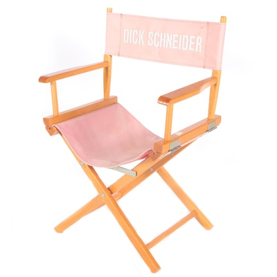 Directors Chair Belonging to Dick Schneider