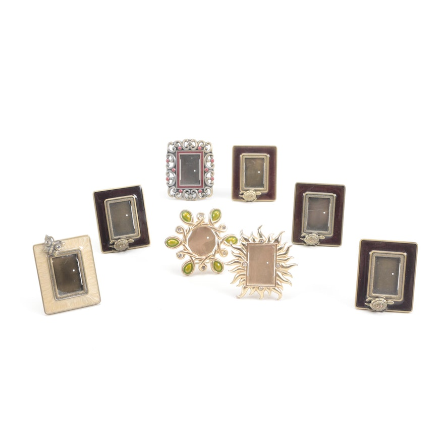 Collection of Jay Strongwater Miniature Picture Frames : EBTH