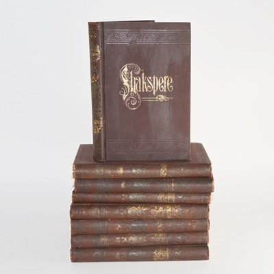 "8-Volume Set of ""The Pictorial Edition of the Works of Shakespeare"""