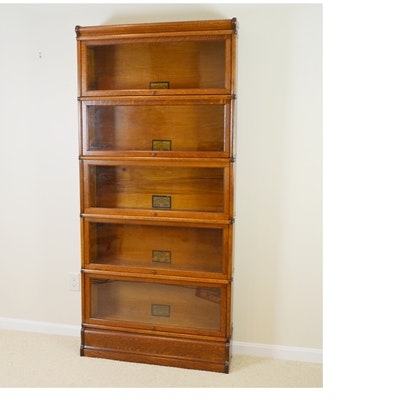 Globe Wernicke Oak Barrister Bookcase