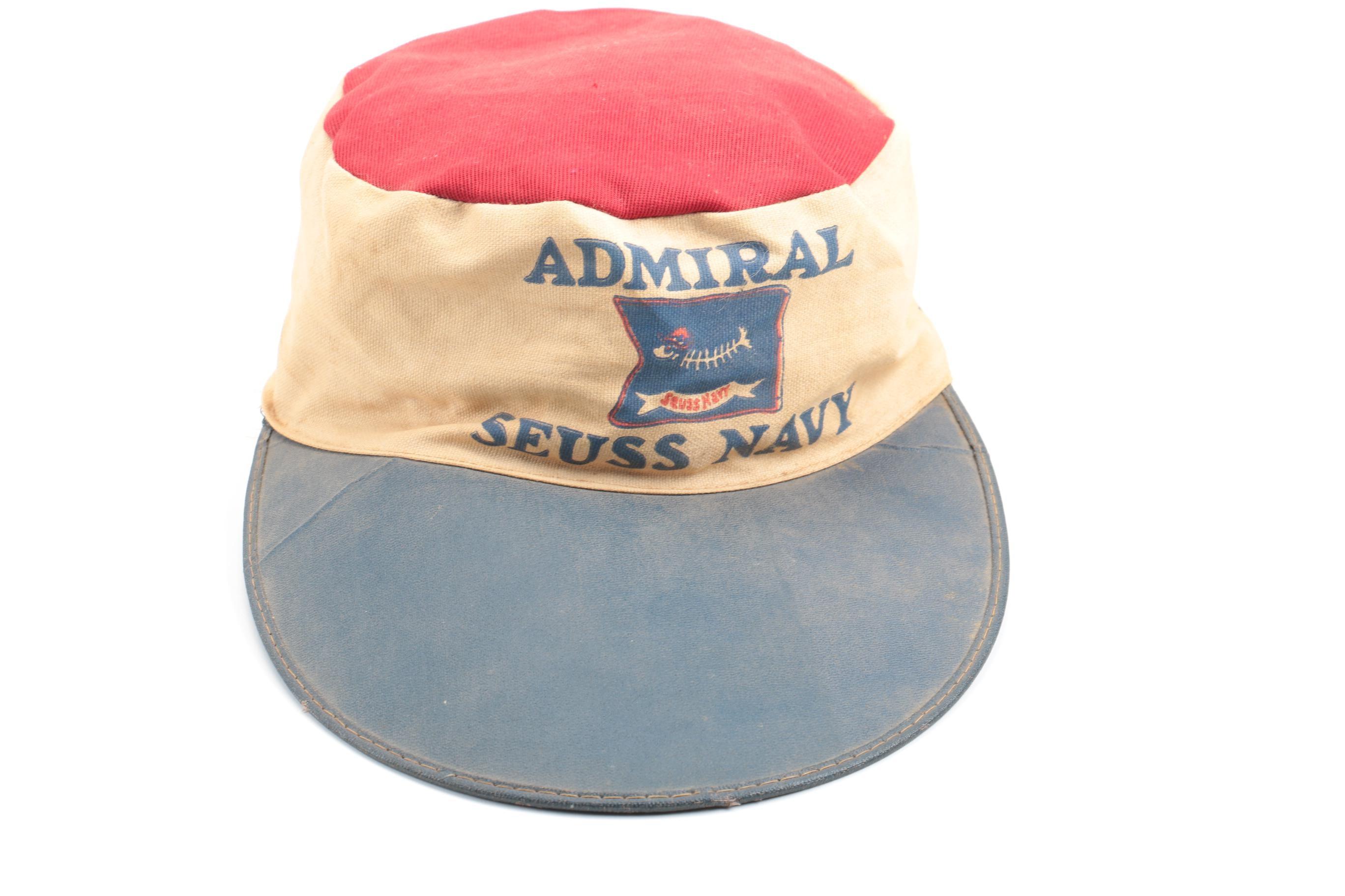 "1930s ""Seuss Navy"" Admiral Hat"