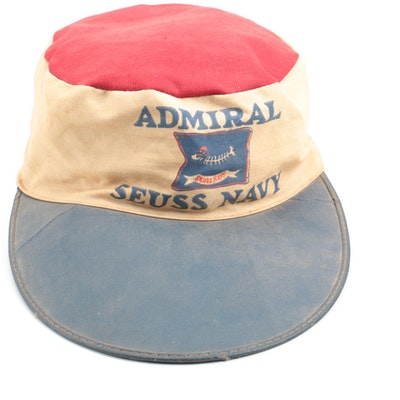 "1930s ""Seuss Navy"" Admiral Hat"