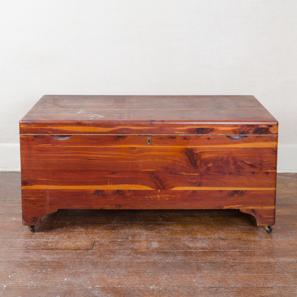 cedar chest by federal equipment company