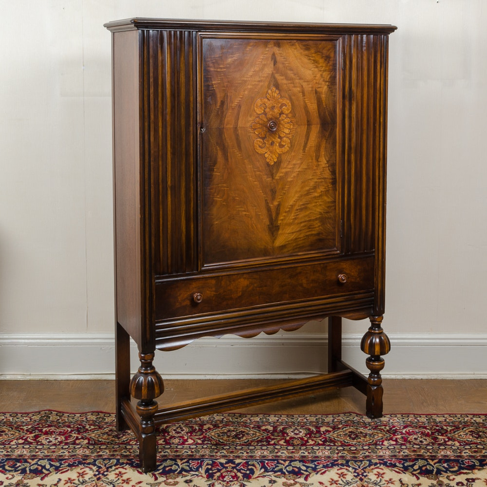 Vintage Highboy by Berkey & Gay Furniture