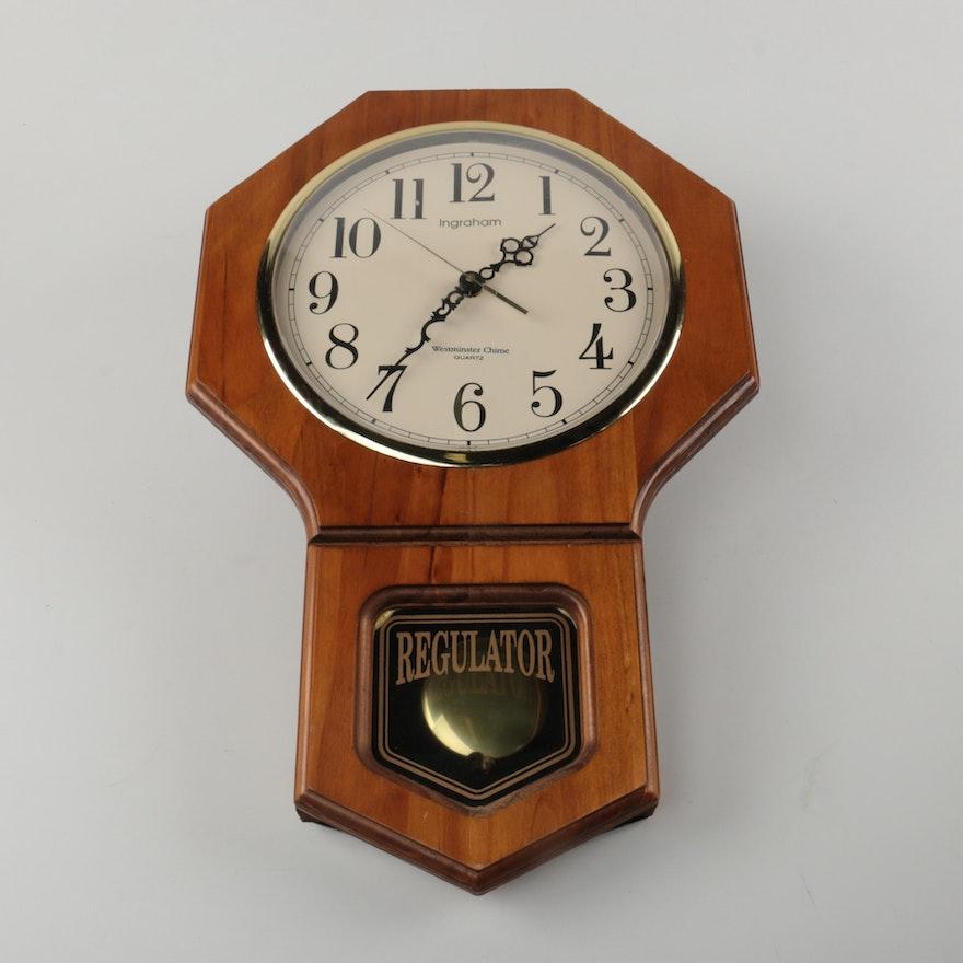 Westminster Chime Regulator Clock Tyres2c