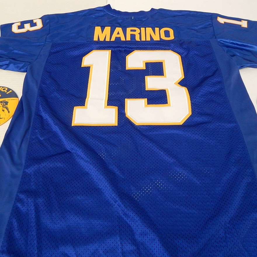 hot sale online b7c32 a3f9e Vintage University of Pittsburgh Collection with Dan Marino Jersey