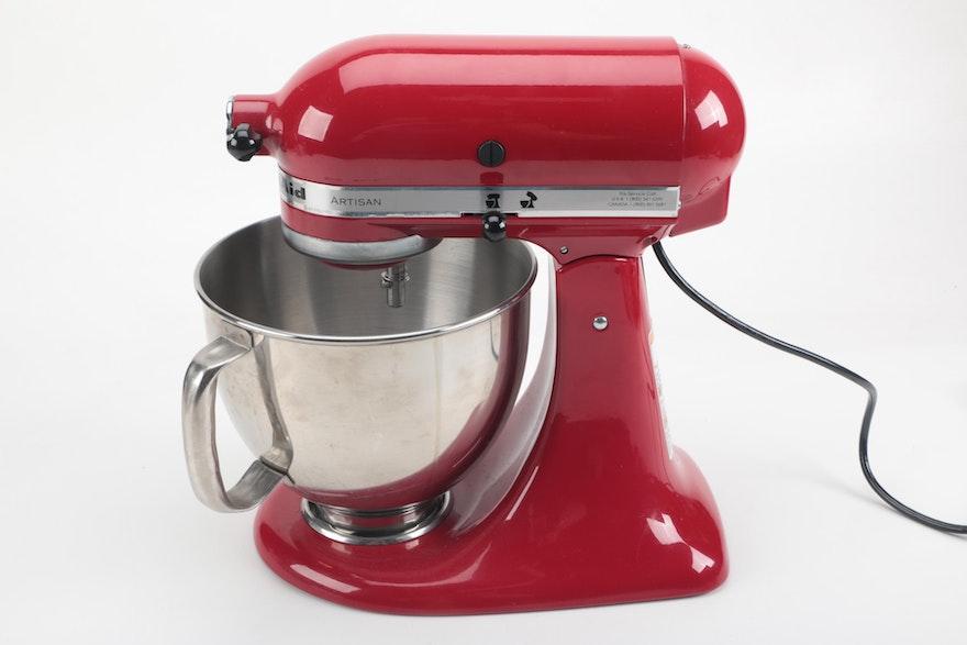 Dimensions Of Kitchen Aid Artisan Mixer