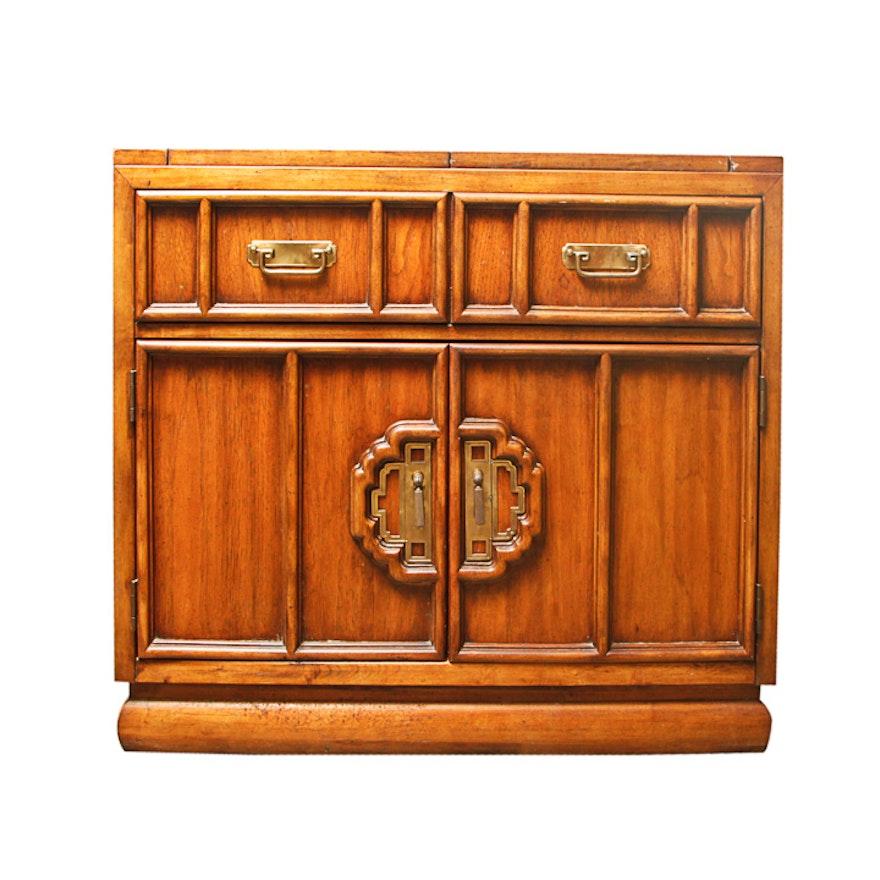 Vintage Stanley Furniture Wooden Bar Cabinet ... - Vintage Stanley Furniture Wooden Bar Cabinet : EBTH