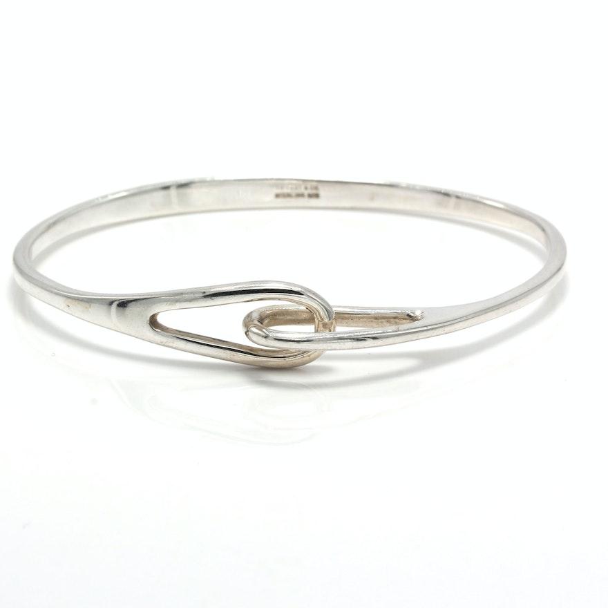 5c5d90fa6 Tiffany & Co. Sterling Silver Double Interlocking Loop Bracelet : EBTH