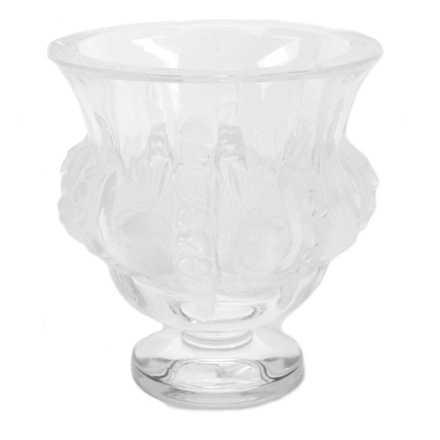 Lalique Crystal Vase Ebth