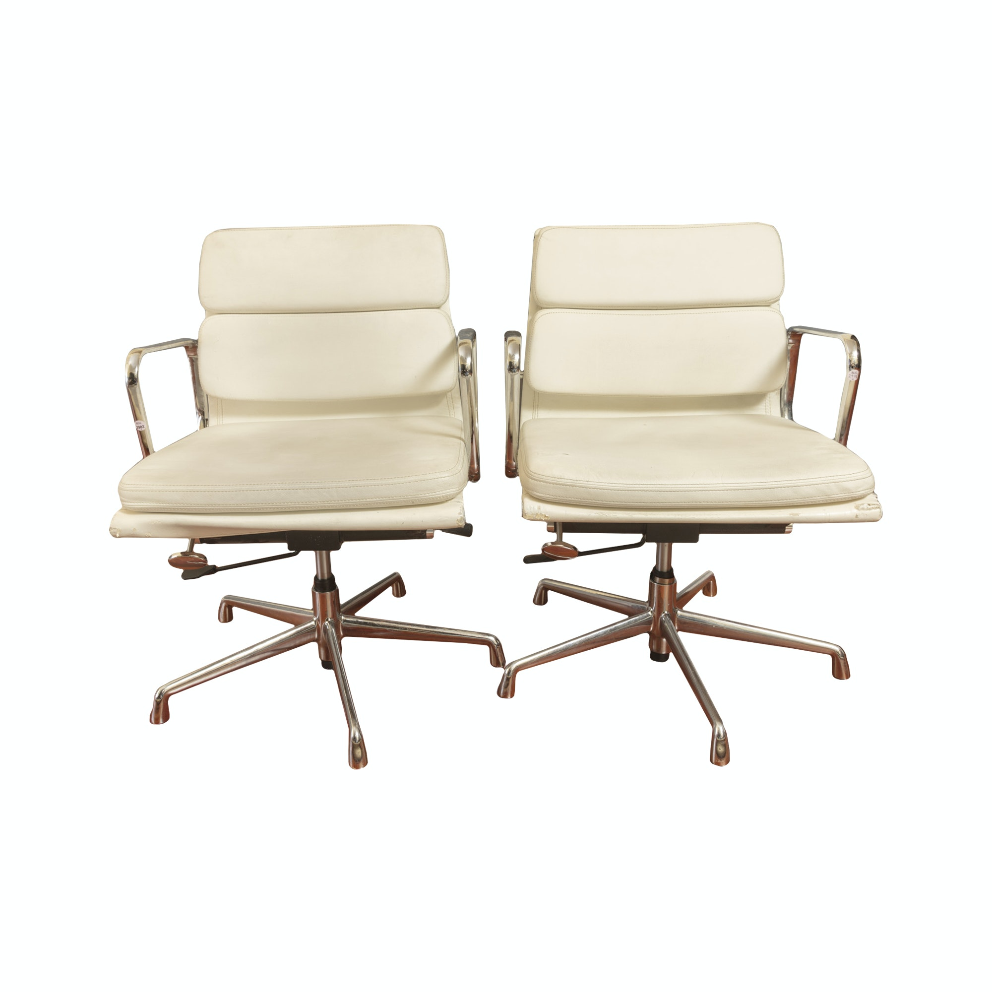 Pair of Modern Style Office Chairs