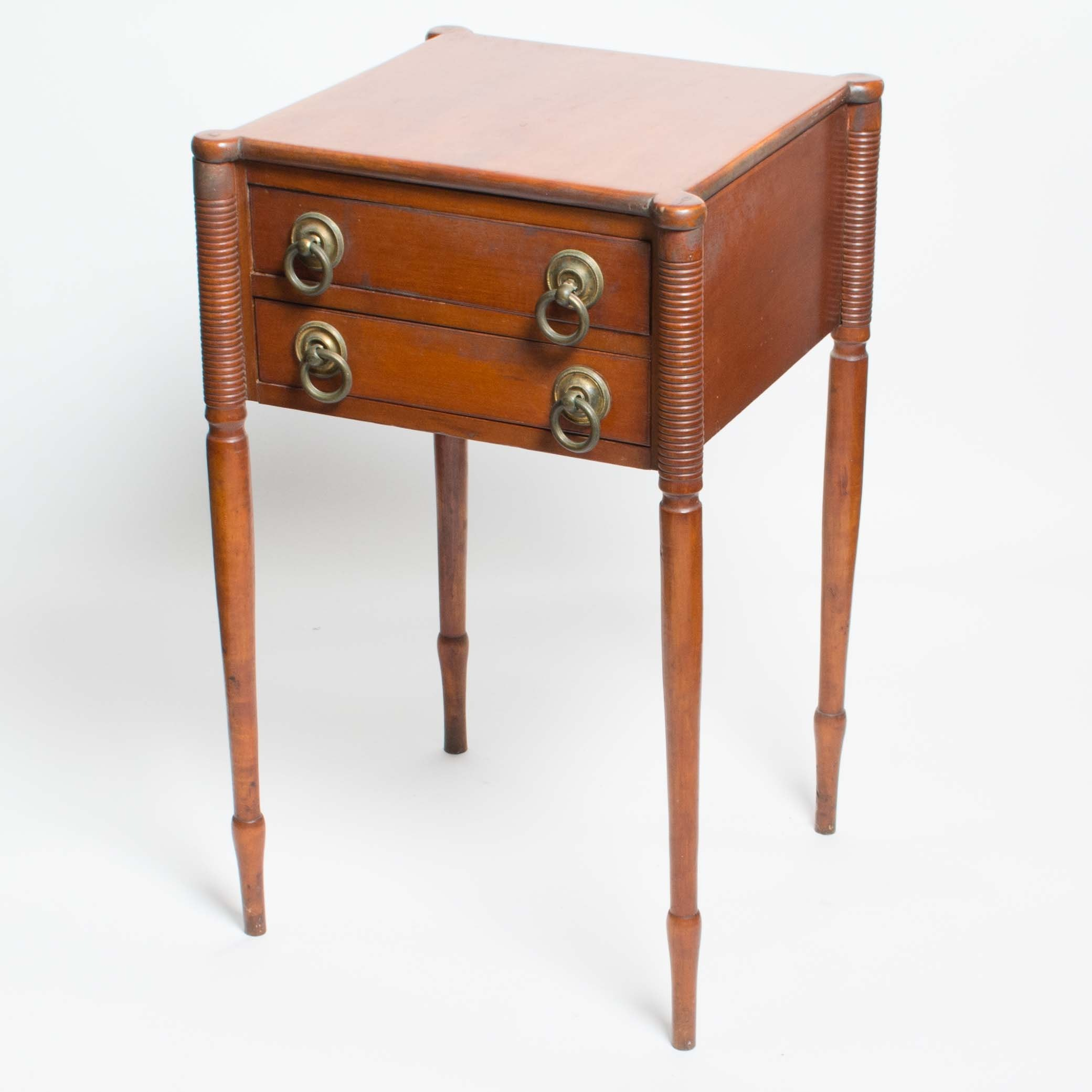 Antique Sheraton Style Side Table