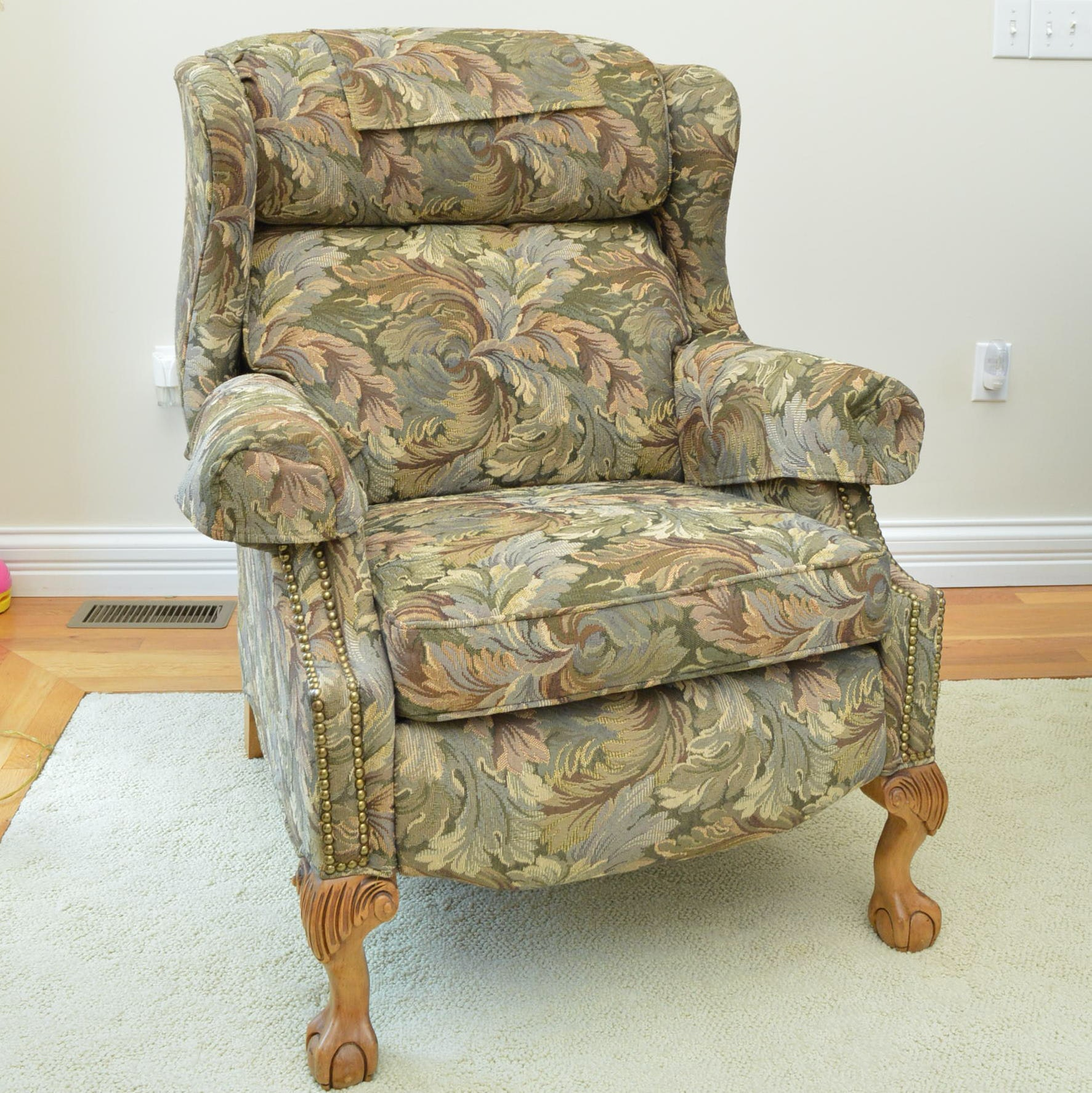Presidential Reclining Wing Chair by Bradington Young
