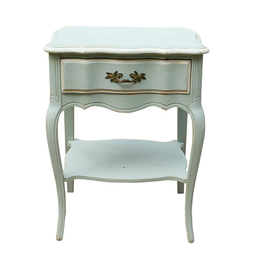 French Provincial Style Side Table Ebth