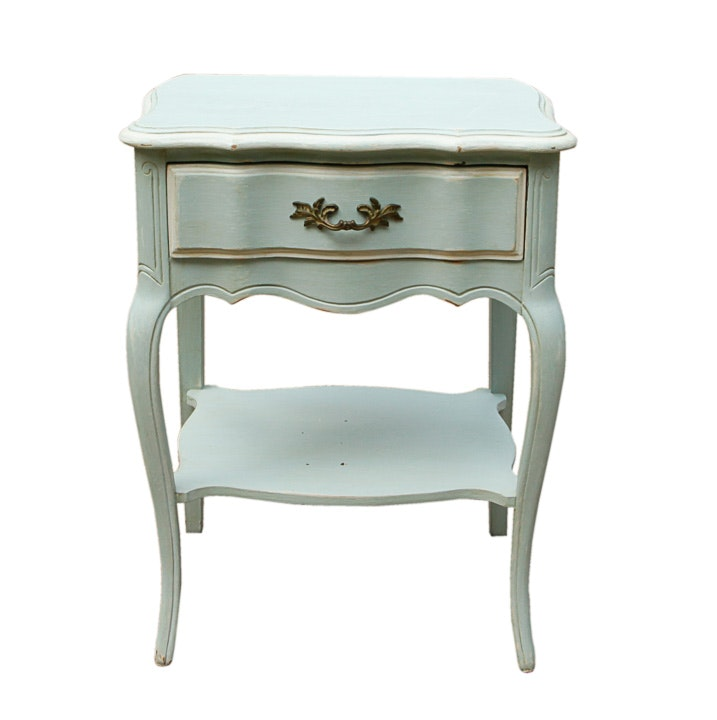 French Provincial Style Side Table
