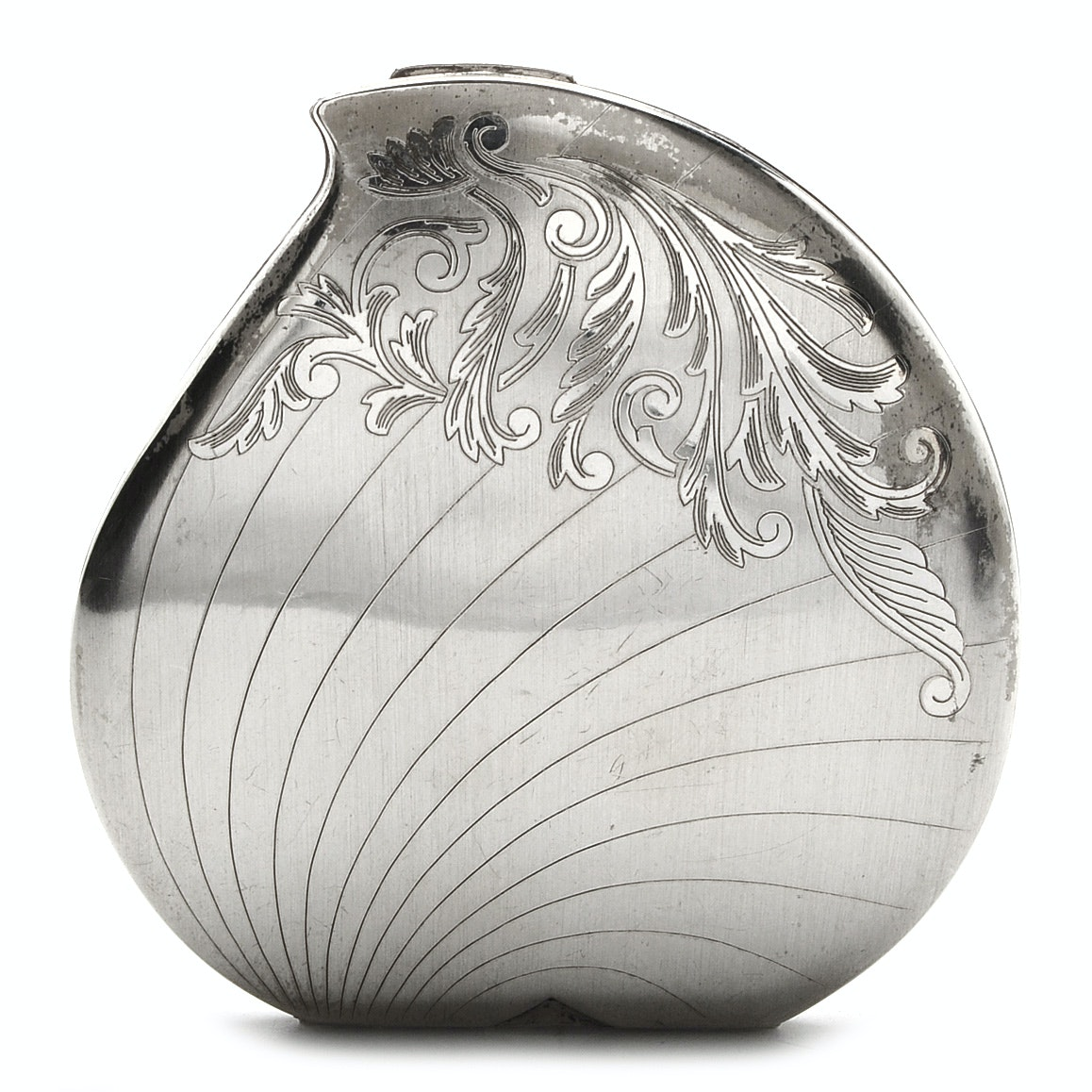 Elgin American Sterling Silver Compact Mirror