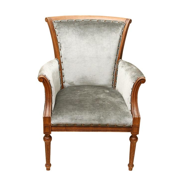Louis XVI Style Armchair.
