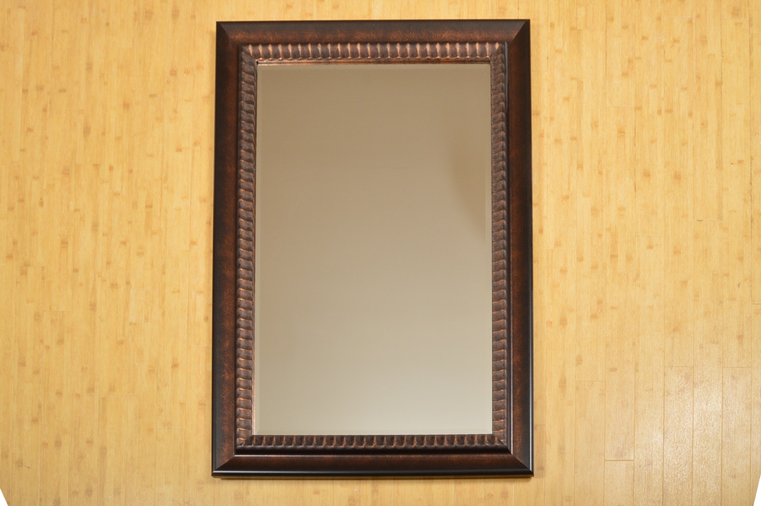 Large Wood Framed Wal Mirror
