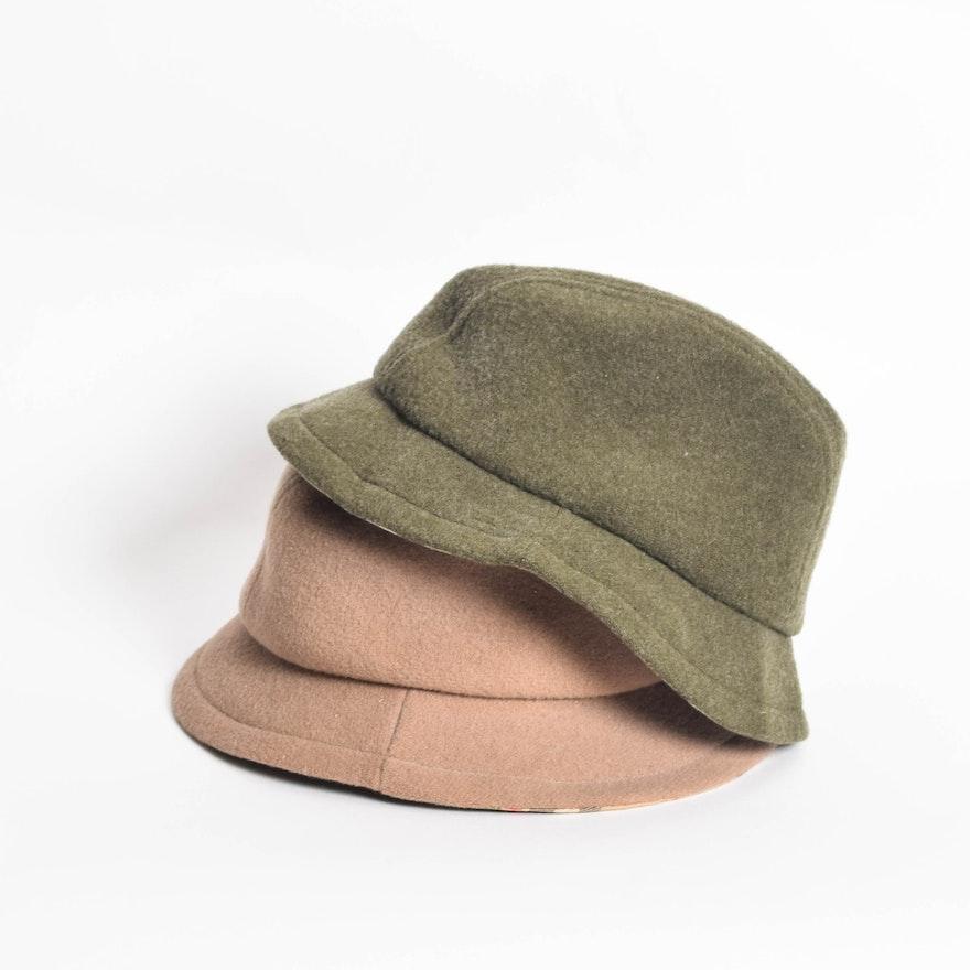 38a2397135d3a Pair of Men s Burberry Bucket Hats   EBTH