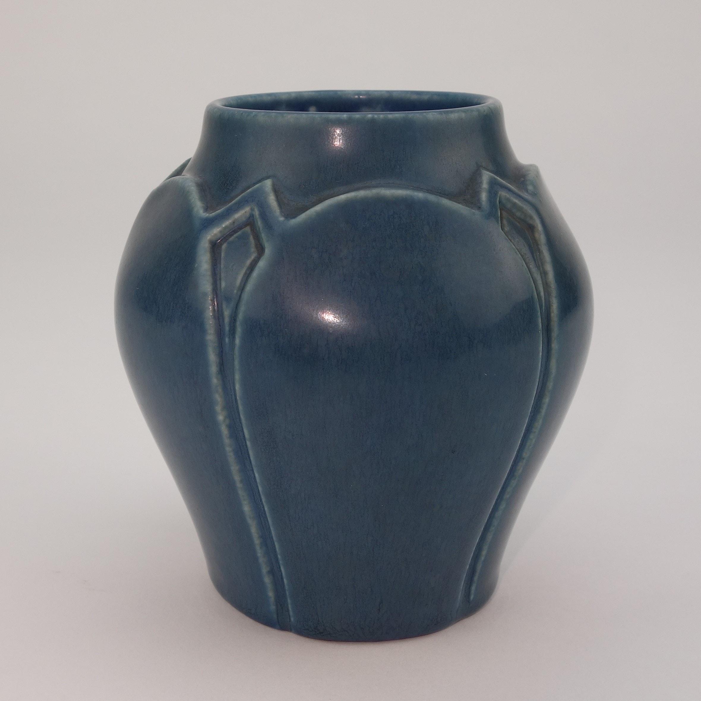 1921 Rookwood Art Pottery Frogskin Vase