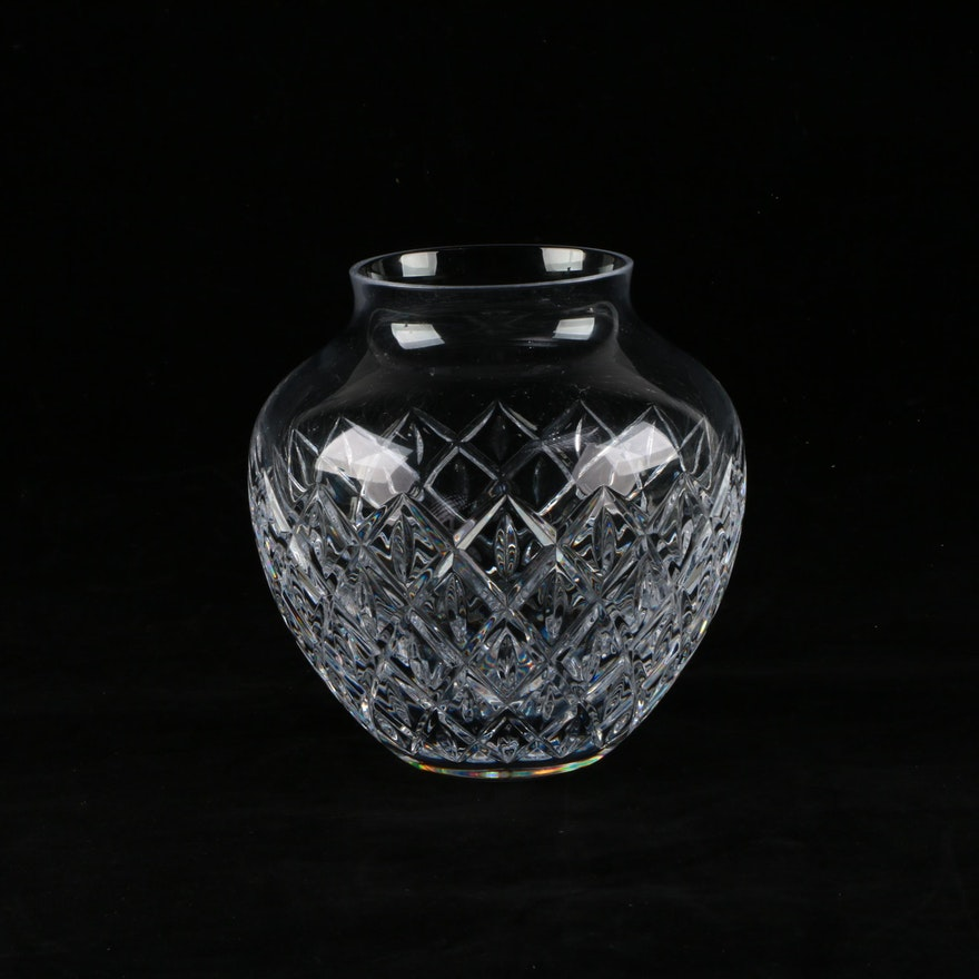 Atlantis Crystal Vase Ebth