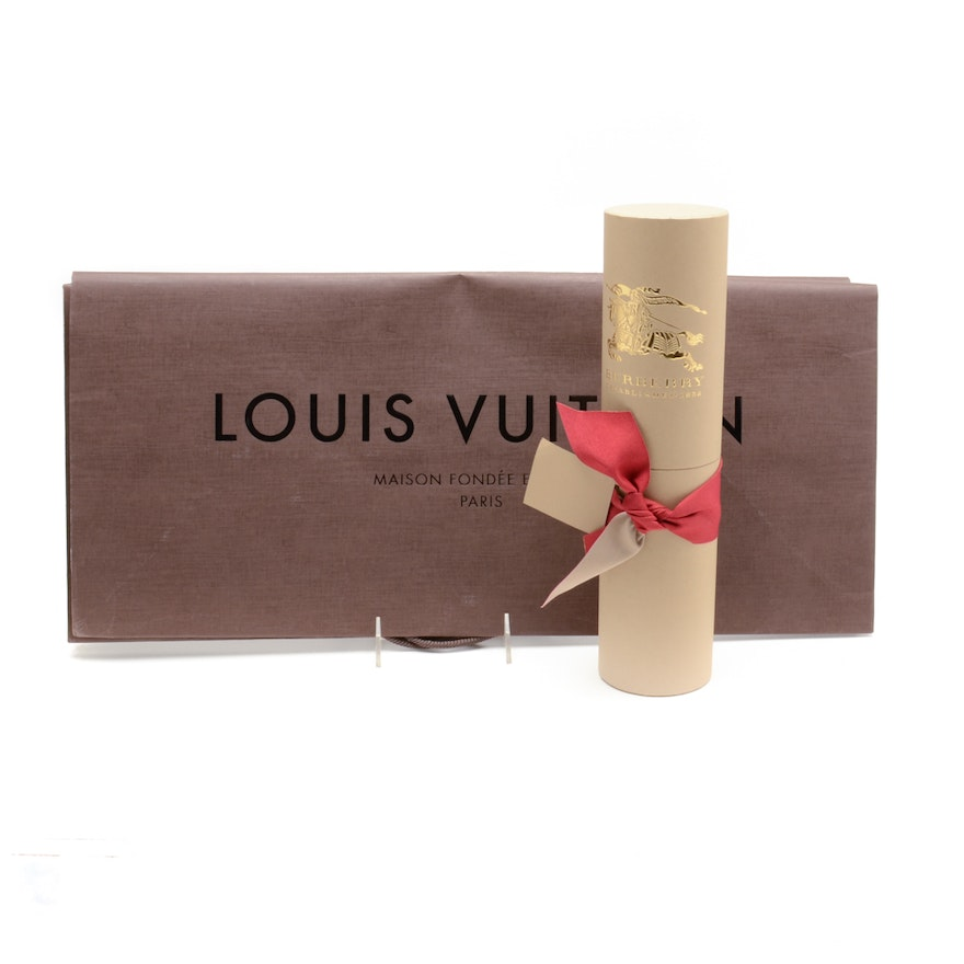 743672f2440d Large Louis Vuitton Shopping Bags and Burberry Tube   EBTH