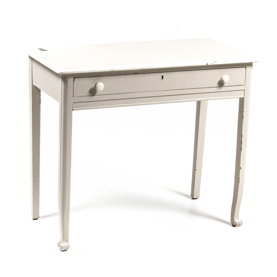 Vintage Distressed Side Table