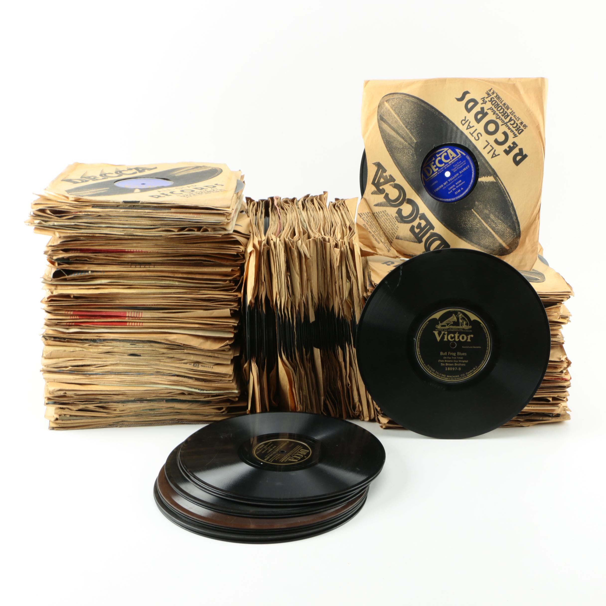 Lewis James, Other 78 rpm Records