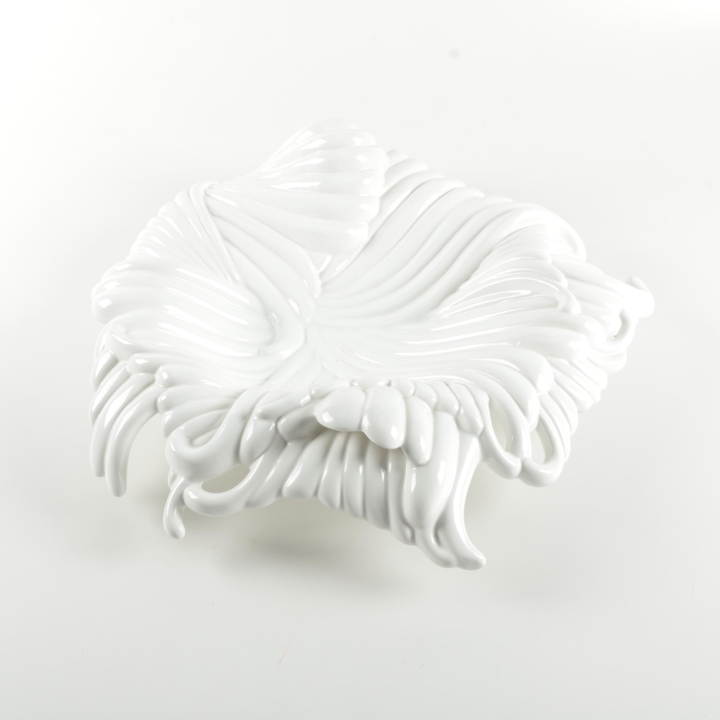Italian Arpex International Decorative Ceramic Dish