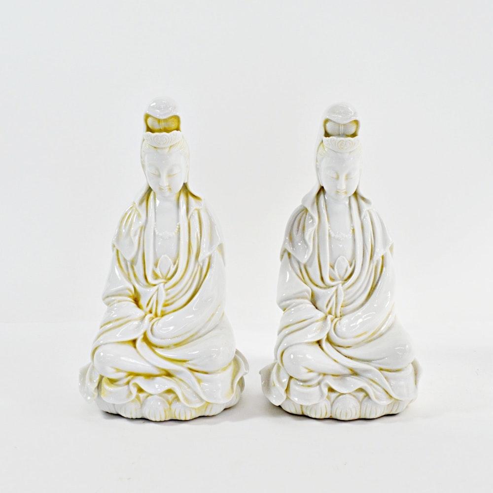 Ceramic Figurines of Guanyin