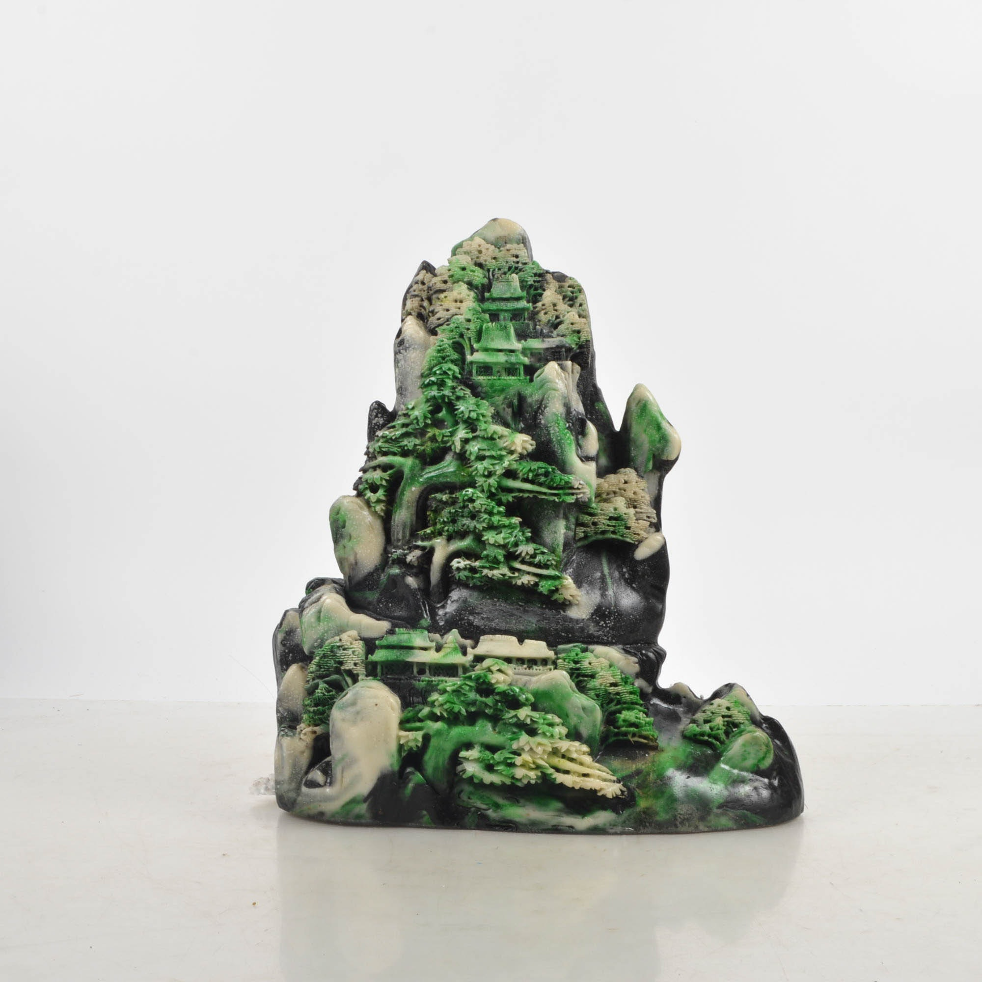 Chinese Resin Shoushan Style Sculpture