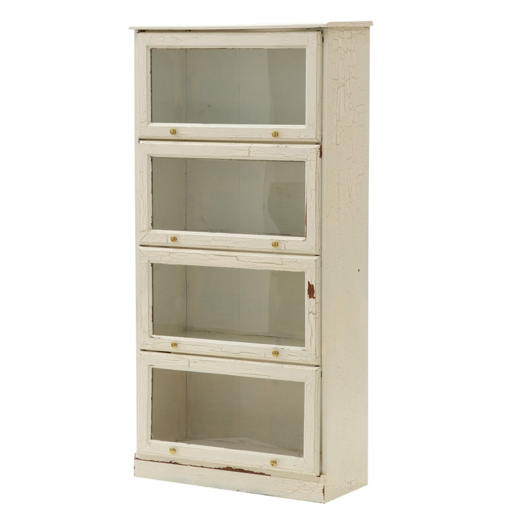 Painted Barrister Bookcase