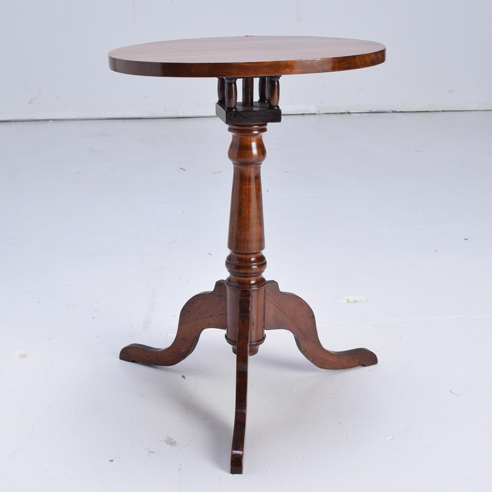 Federal Style Tilt-Top Side Table
