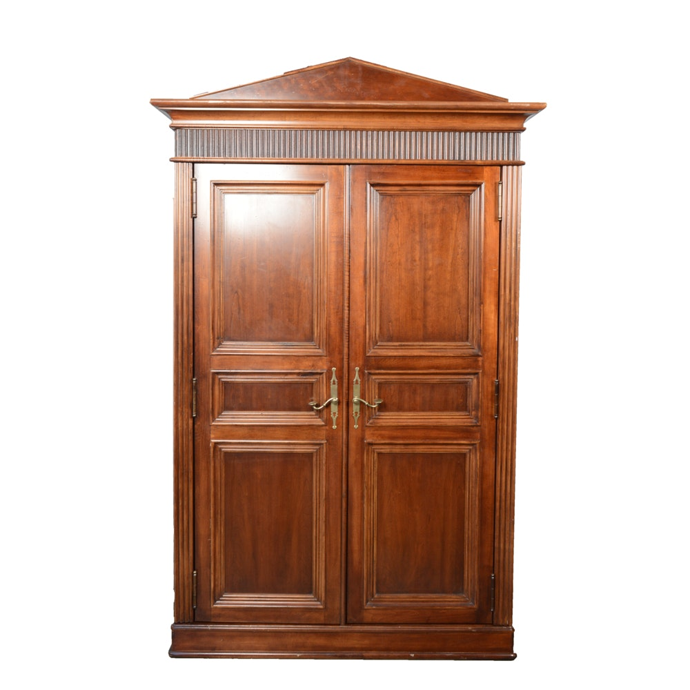 Nautica Home By Lexington Furniture Solid Wood Armoire ...