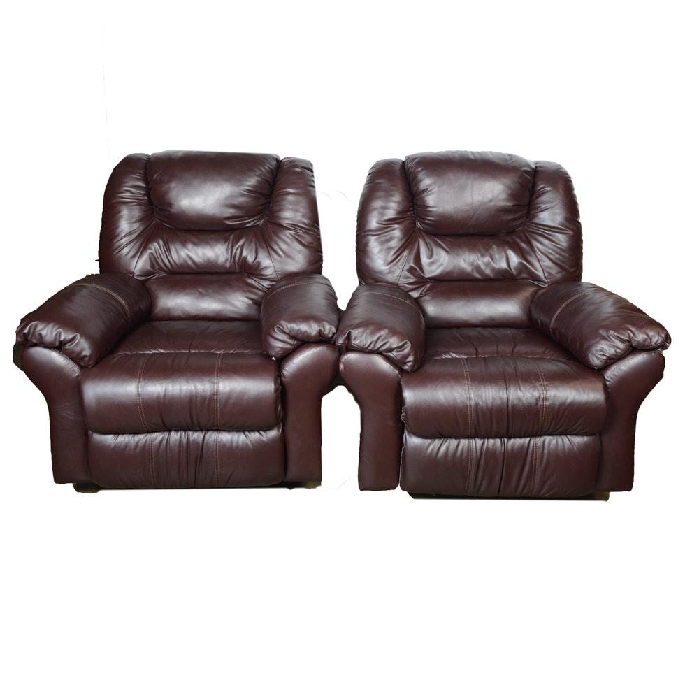 Pair of Klaussner Recliners