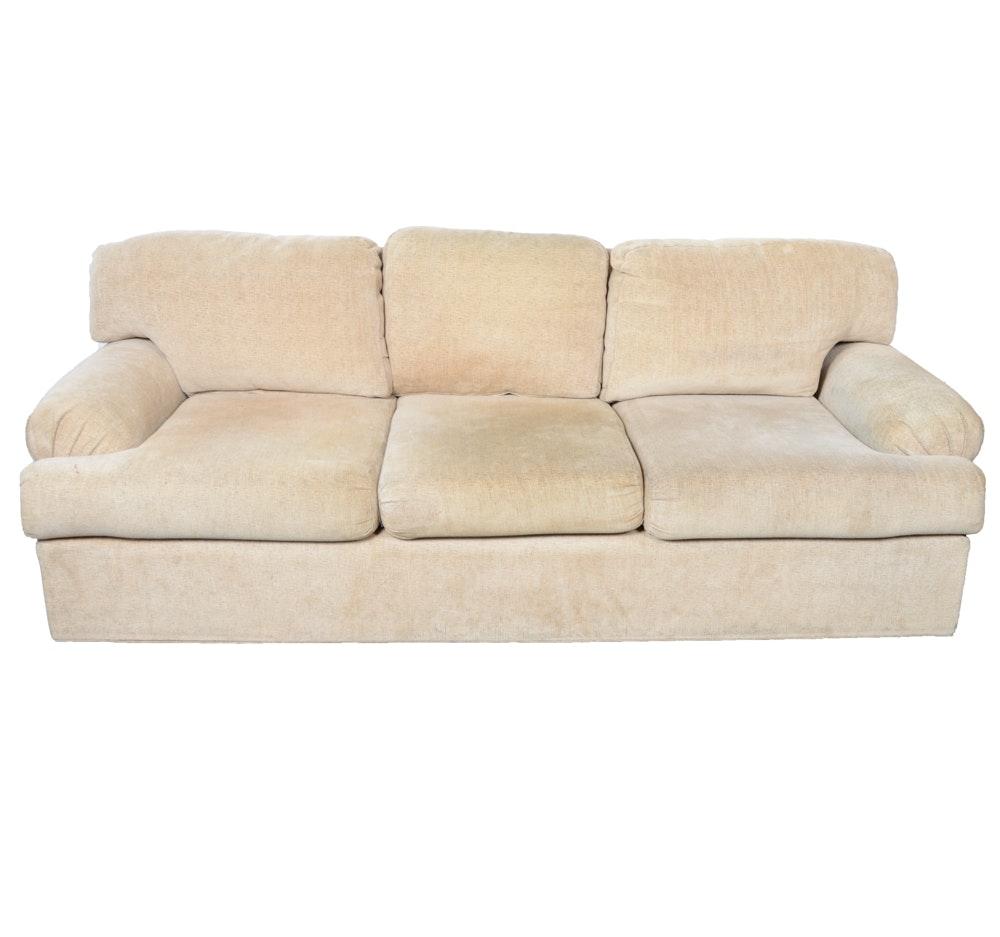 Contemporary Oatmeal Sofa