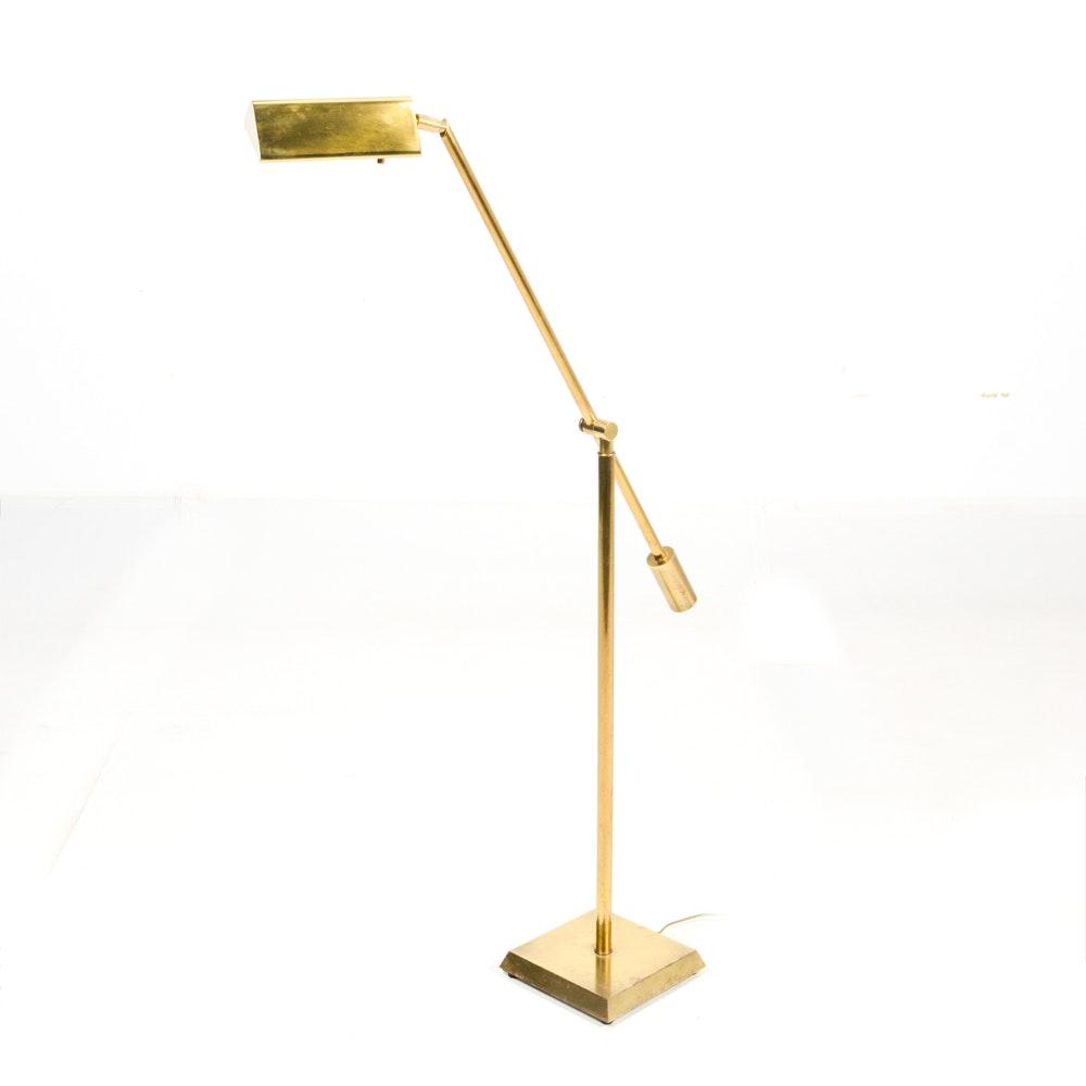Fredrick Cooper Brass Floor Lamp