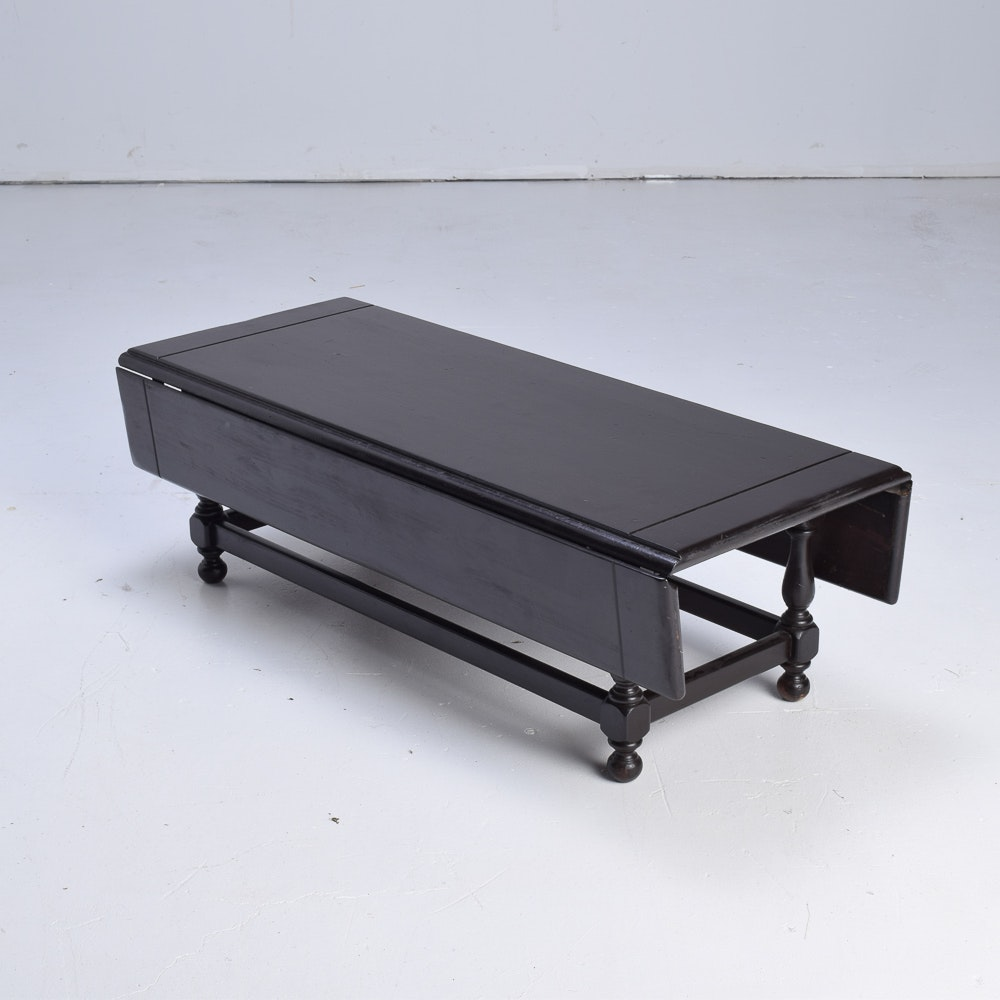 Drop Leaf Wooden Coffee Table