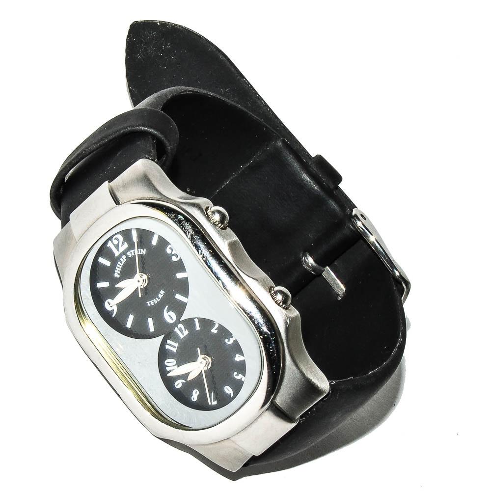Philip Stein Teslar Chronograph Wristwatch