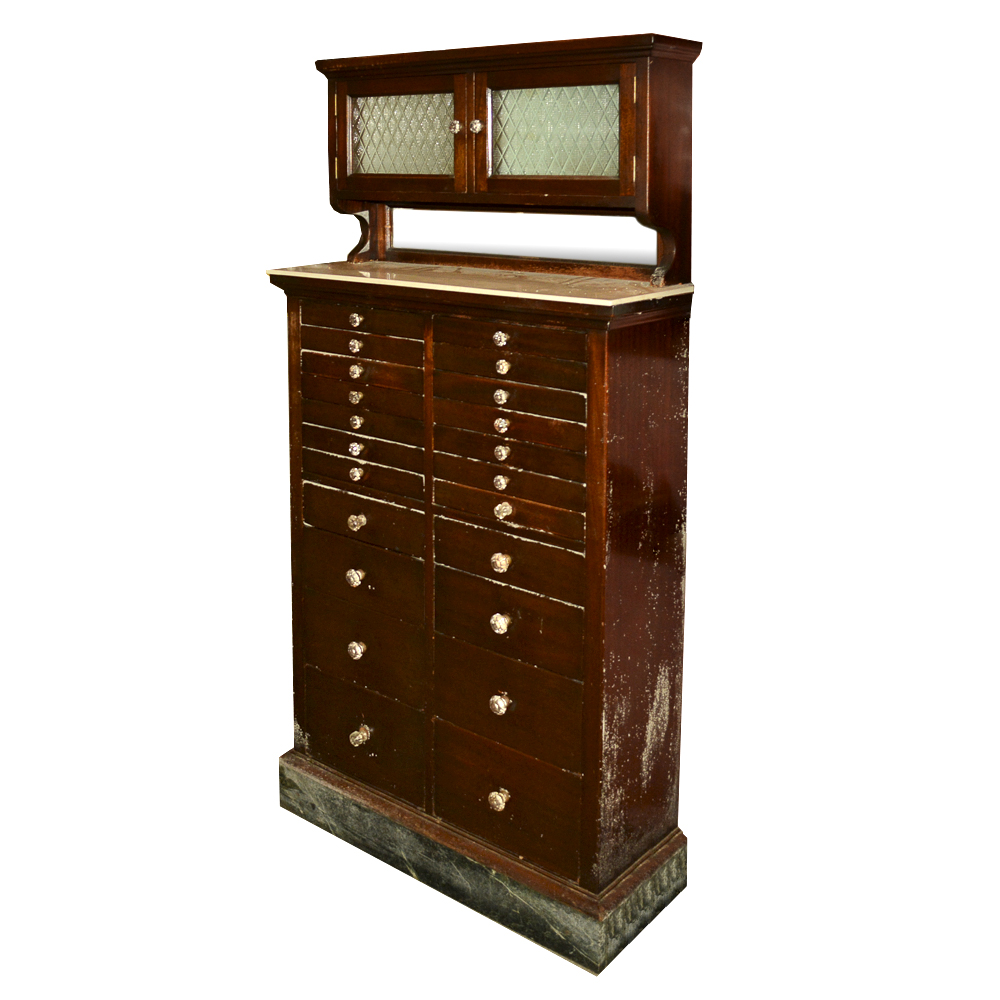 Antique Dental Cabinet by American Cabinet Company : EBTH