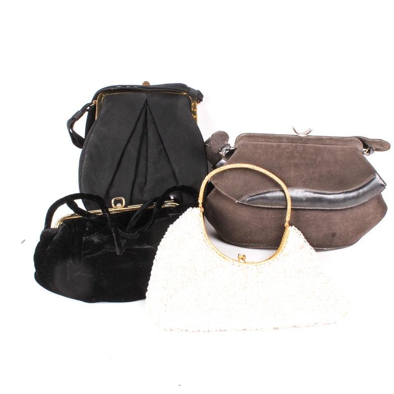 Four Vintage Handbags