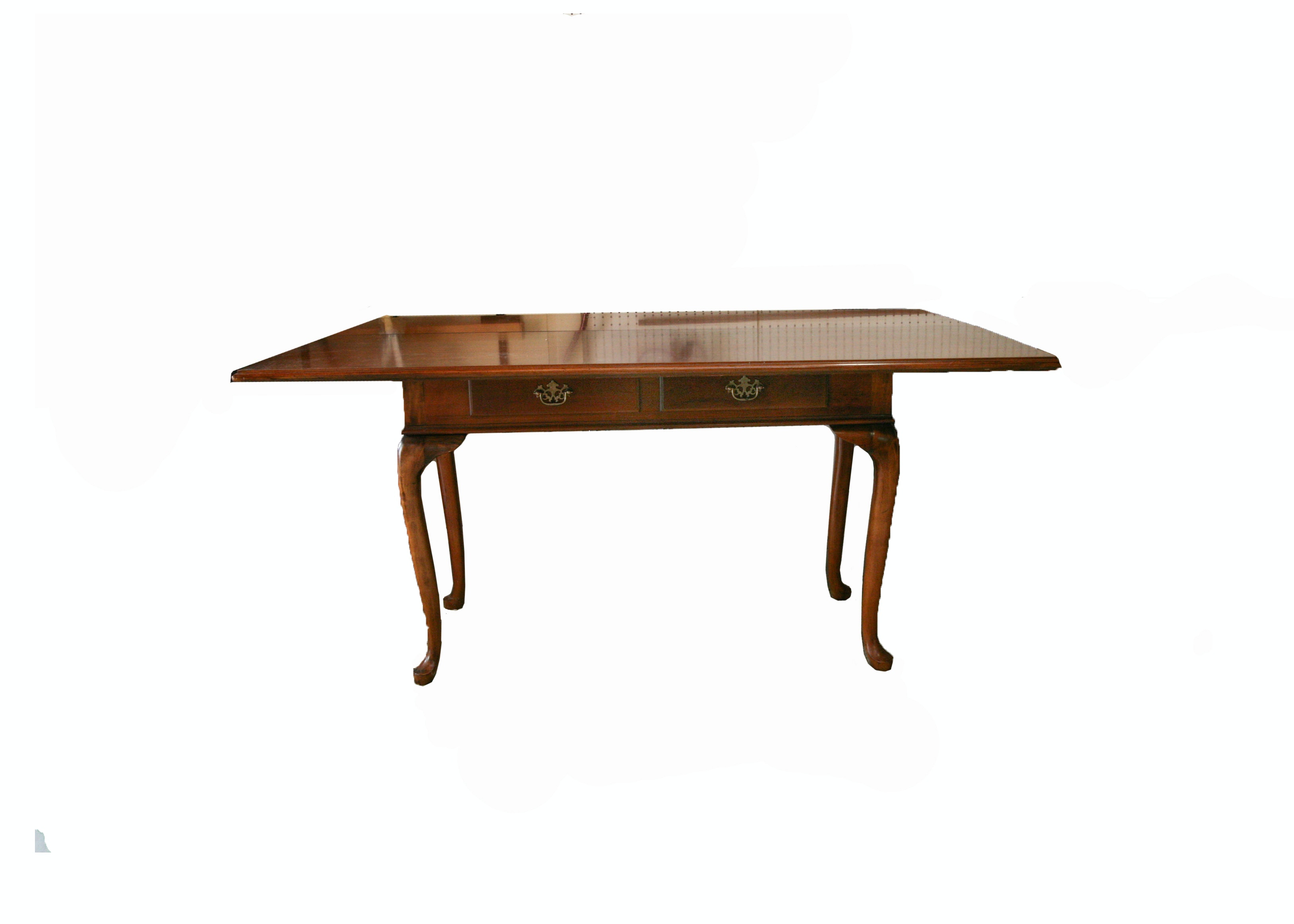 Queen Anne Style Folding Top Dining Or Console Table By Brandt Furniture ...