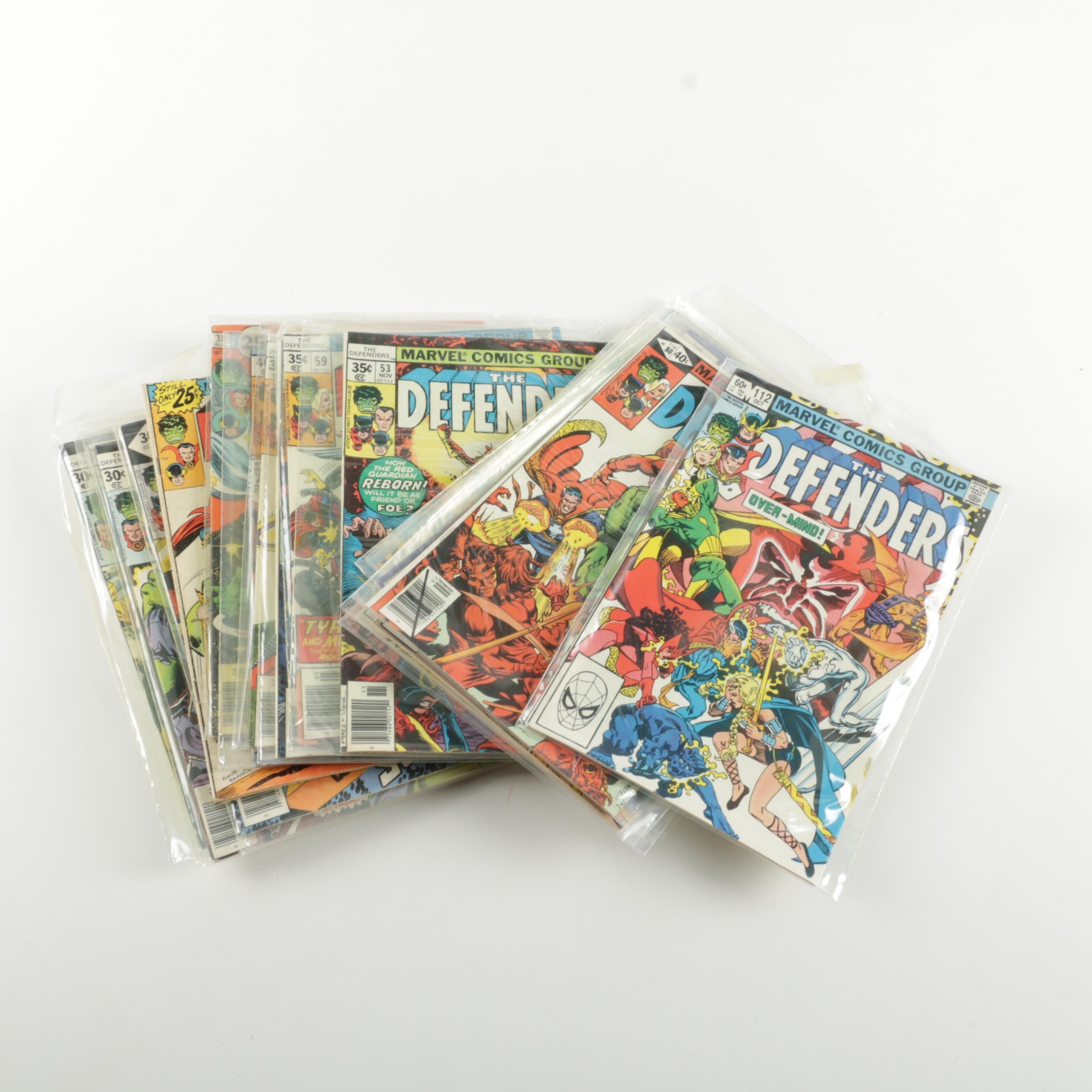 "Marvel ""The Defenders"" Comic Books"